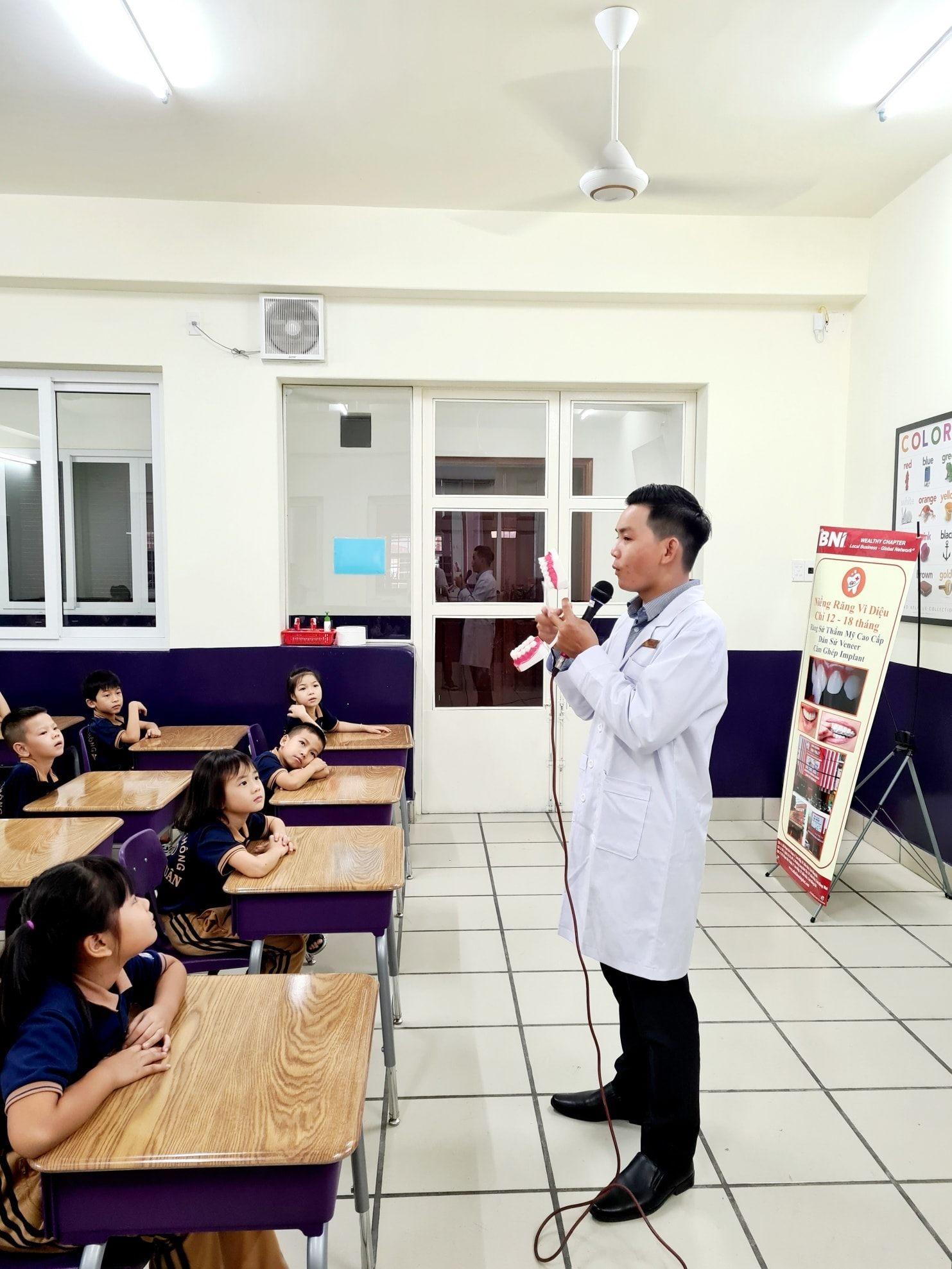 Nha Khoa Đại Phát và chương trình giáo dục Nha Học Đường